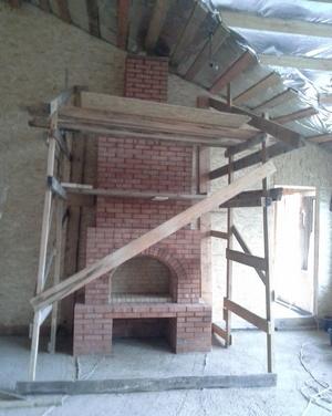 подготовка к строительству камина