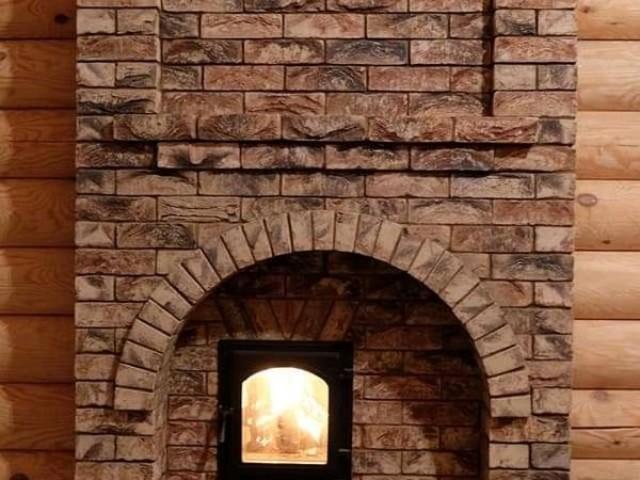 Банная печь с закрытой каменкой