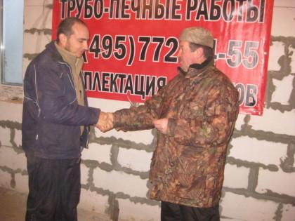 Евгений Колчин и Костя Блинов