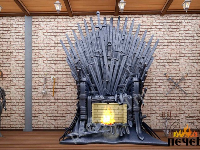 А Game of Thrones fireplace by pecheved.ru